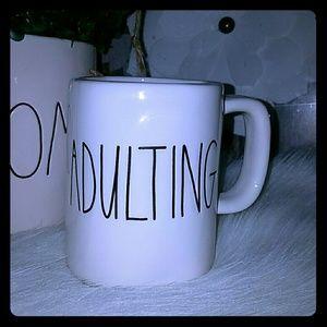 Rae Dunn adulting mug